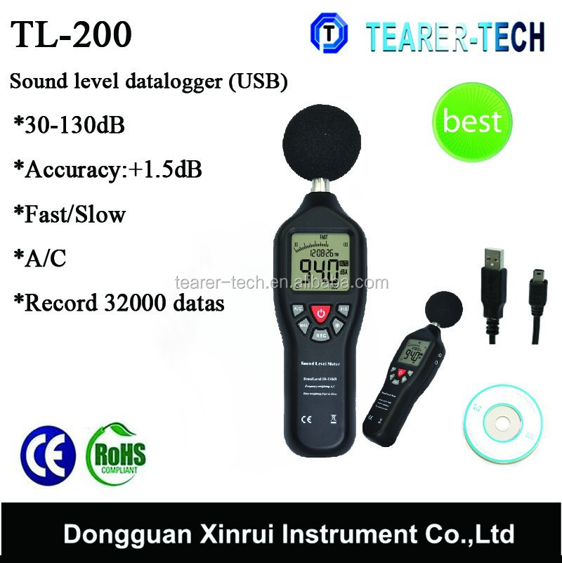 Good quality best noise meter,noise level measurement factory price TL-200