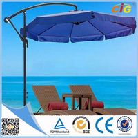 Newest Design 2 Years Warranty beach umbrella frame