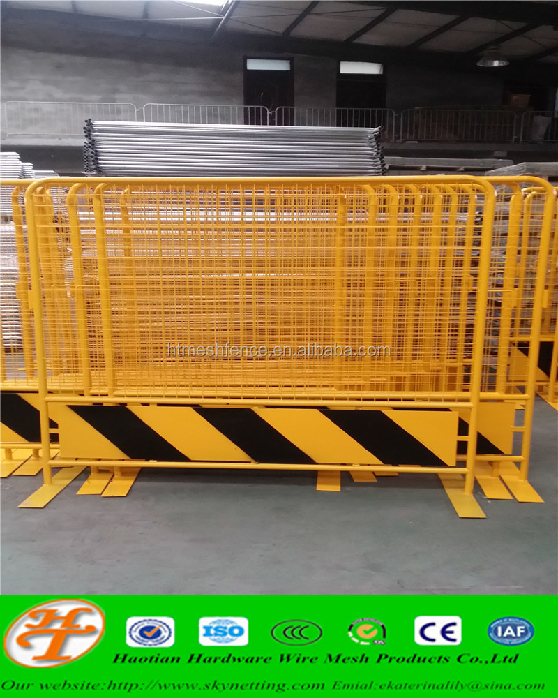 Temporary Fence/Pedestrian Barrier(powder coated)
