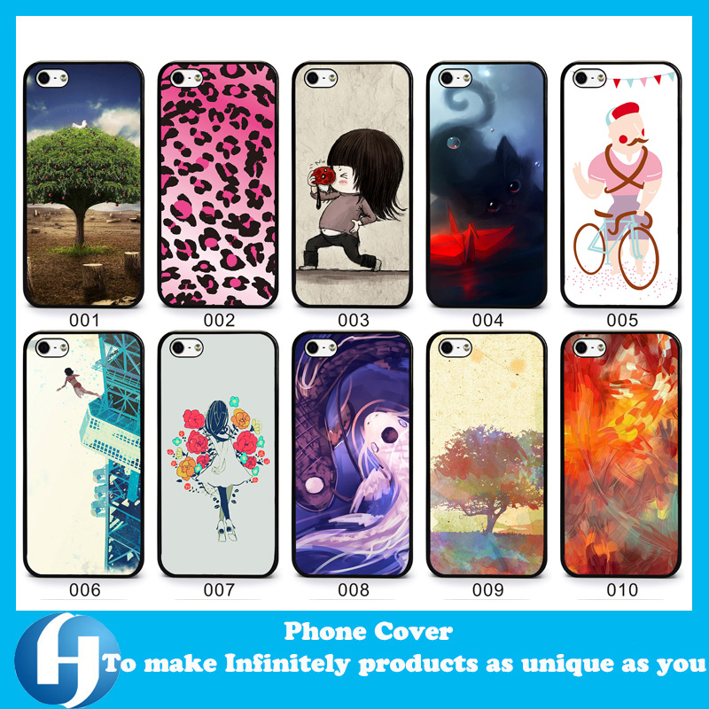 Drop shipping NO MOQ custom 2D sublimation heart transfer printing plastic PC TPU mobile phone cover case for iphone