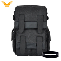 Stylish Water Proof Canvas SLR Camera Backpack Bag