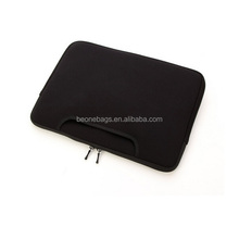simple design universal black soft computer notebook case/bag