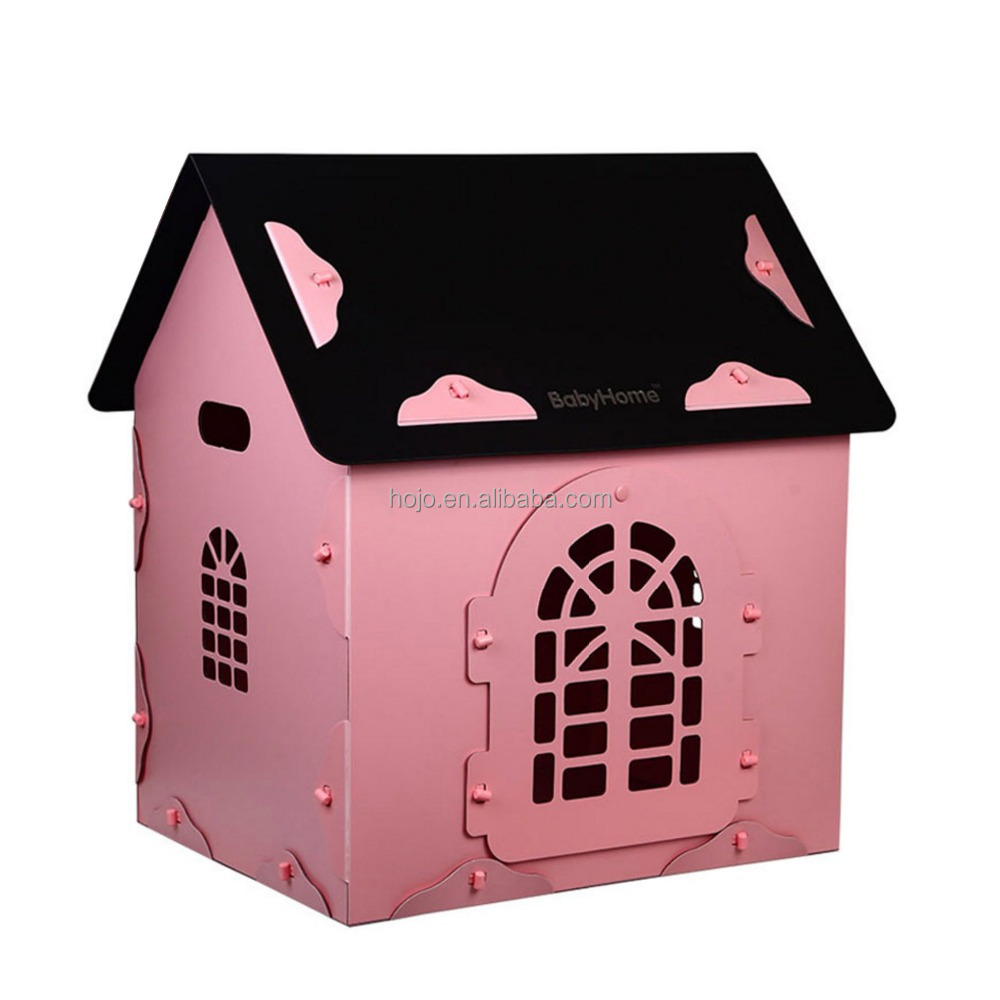 pink dog pet accessory for outside cage