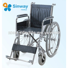 wide wheel invalid wheelchair