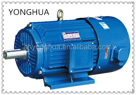 Fully enclosed protection function and 1.6A rated current 0.55kw AC motor