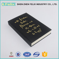 Widely used superior quality wholesale hardcover/notebook