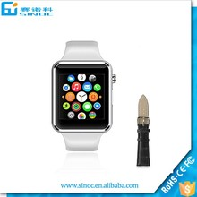 Used mobile phones bluetooth smart watch for all of mobile phones for android and IOS A1 smart watch
