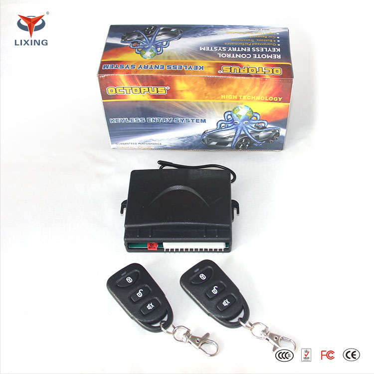 Factory price universal octopus car alarm and keyless entry system with central locking system
