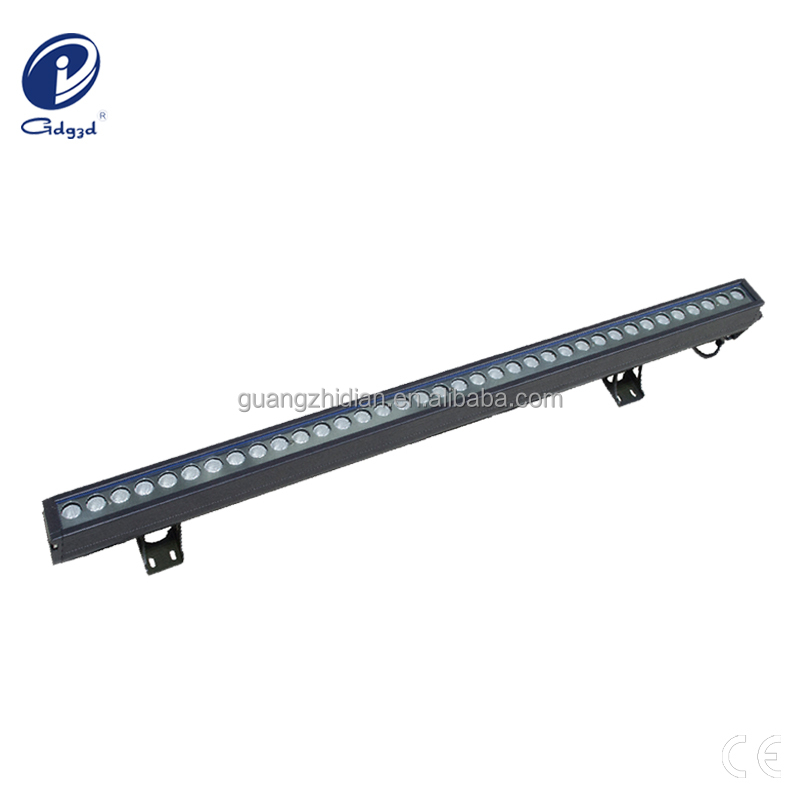 Color changable 60W led decoration light for outdoor building facade lighting