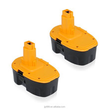 replace battery pack Dewalt 18V 1.3amp -3.0amp Dewalt DW9095 compatible power tool battery,customized logo printed battery
