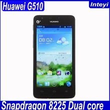 "Original 4.5"" Huawei G510 cell Phone U8951 512MB RAM + 4GB ROM Android 4.1 1.2G Dual Core GPS WCDMA mobile G510"