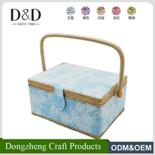 D&D sewing notions Arts And Crafts fabric gift box basket cross-stich Sewing box promotion storage box