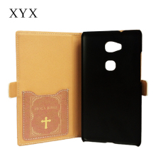 easter activity!holy bible theme flip leather mobile phone cover case for gionee f103, case covers for gionee f103