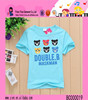 OEM Service Summer Boys Casual Cartoon Character Printed T-shirt