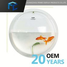 Low Price Steady Supply Custom Fit Round Plastic Fish Bowl