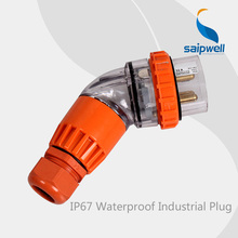 2014 saip/saipwell New Product 3 pin adaptor plug and speaker3 phase 5 pin plug with IEC conform to international standard