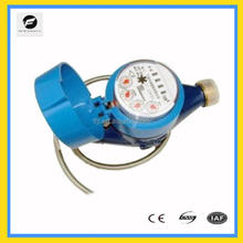 Multi Jet Dry Type brass/iron Water Meter for measure the volume of water flow