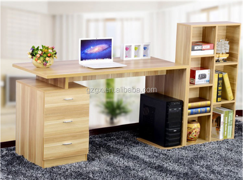 Manufacturers selling simple Korean bookshelf combination desk desktop computer desk