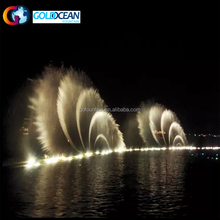 Led Light Outdoor Floating Water Fountain