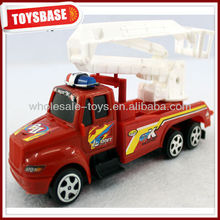 toy yellow fire engine