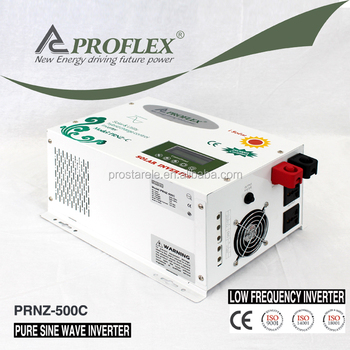 12v/24v 220v 500VA off grid solar inverter with PWM charge controller
