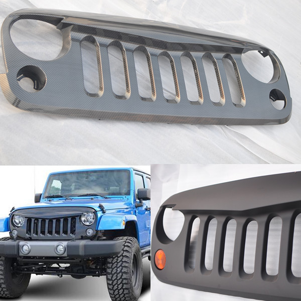 Angry-Bird Grill Jeep Wrangler With Lights