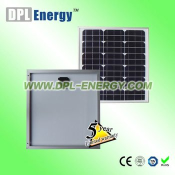 DPL-30W poly photovoltaic solar panel
