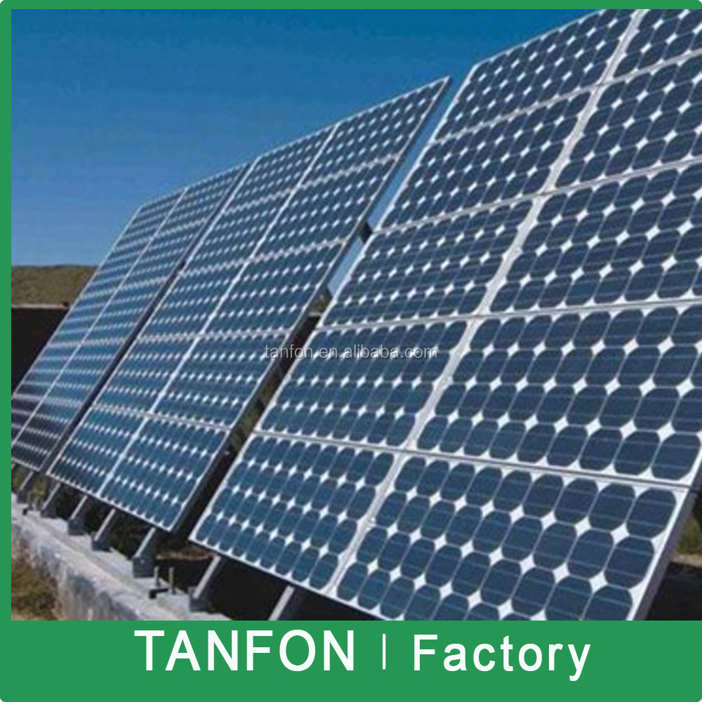 2KW 3KW Solar Power System Solar Power System For Home / Photovoltaic Cheap 1500W 2000W Chinese Solar Panels Price