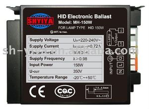 MH-150W HID electronic ballast