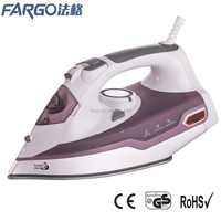 PL-280 manufactory new design big size steam iron full function steam iron with auto off in electric iron