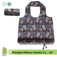 Print Foldable Spring Roll Tote Shopping Grocery Bag