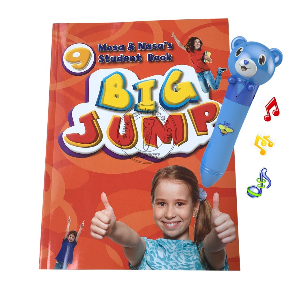 Activity English Books Big Jump and Talking Pen by OID 3 Technology for Kids 10 Books Interactive Learning