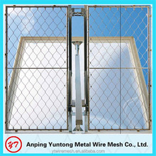 Modern mesh SS 304 316 316L stainless steel rope mesh fence for apartment