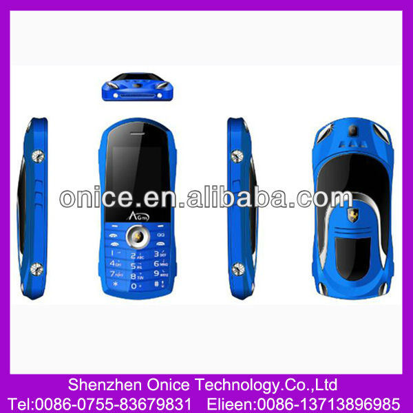 dual sim ferrari car shaped mobile phone F3 for india pakistan market