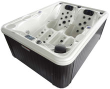 Portable walk in bathtub whirlpool bathtub pump Double Hot Tub with cover