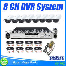 2015 HOT dvr system 8 channel security camera ,Sony Chip Hd Cctv 12v Surveillance Camera,mini dv md80 dvr video camera