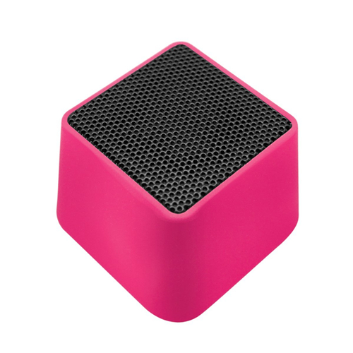 Portable trapezoid-shaped mini amplifier speaker
