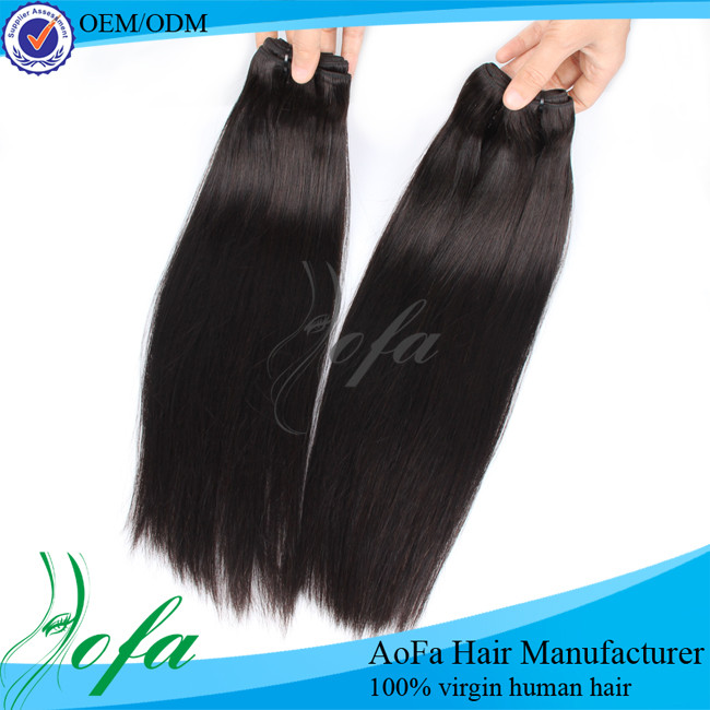 cheveux naturels virgin brazilian hair wholesale 3 bundles with closure made in china