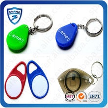 Blank Custom Colored Plastic Key Tags with ID Labels