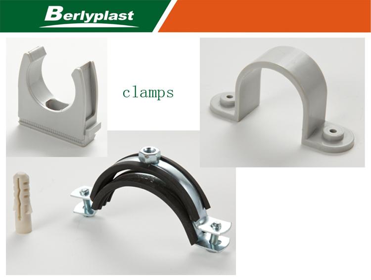 Plastic fitting saddle pvc tube clamp buy