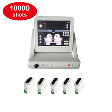STM-8063D HIFU skin rejuvenation and body slimming ultrasonic machine equipped 5 Heads with 10000 shots each cartridges hifu