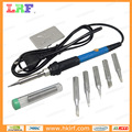 Simple metal Soldering iron Stand bracket 110V 60W + Solder wire + 5pcs Soldering Iron head