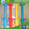 Ligth duty galvanized shoring system