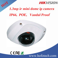 1.3 MP Mini Dome Network Camera CMOS Cloud Vandal Proof Security Camera IP Surveillance Camera