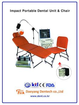 IMPACT Portable Dental Unit Chair