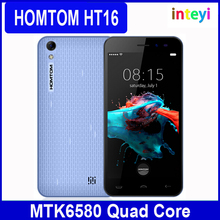 Original Homtom HT16 Smartphone 5 Inch HD 1280x720 IPS Mtk6580 Quad Core Android 6.0 Cell Phone 1GB RAM 8GB ROM 8MP CAM 3000mAh