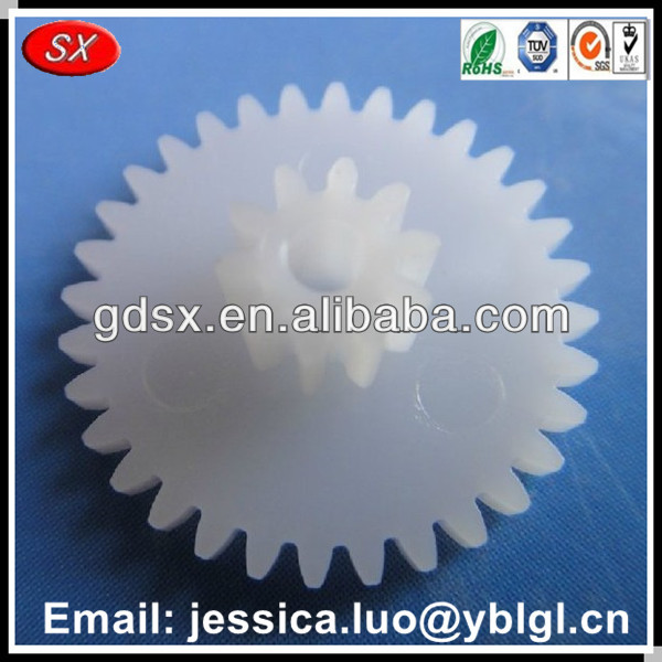 Chinese factory double spur plastic gear sale for electric motor