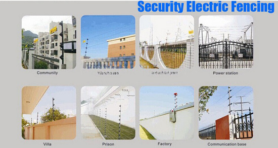 hot sale elec fence energizer secure garden protect personal place