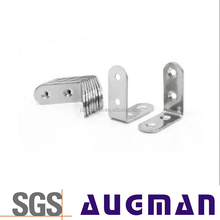 wood connector hardware metal bracket wiht holes,degree L shaped corner brace plate support fixed for wood