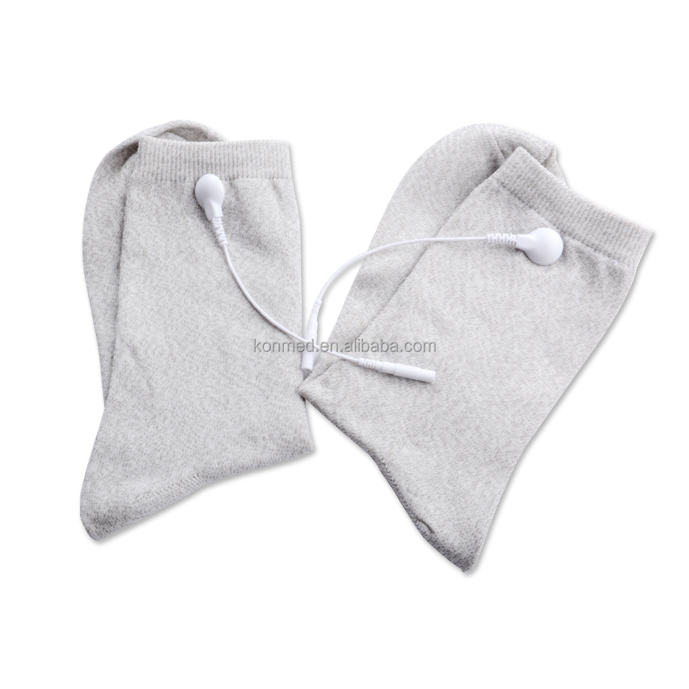 TENS electric socks for physiotherapy therapy massage socks